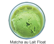 Matcha au Lait Float